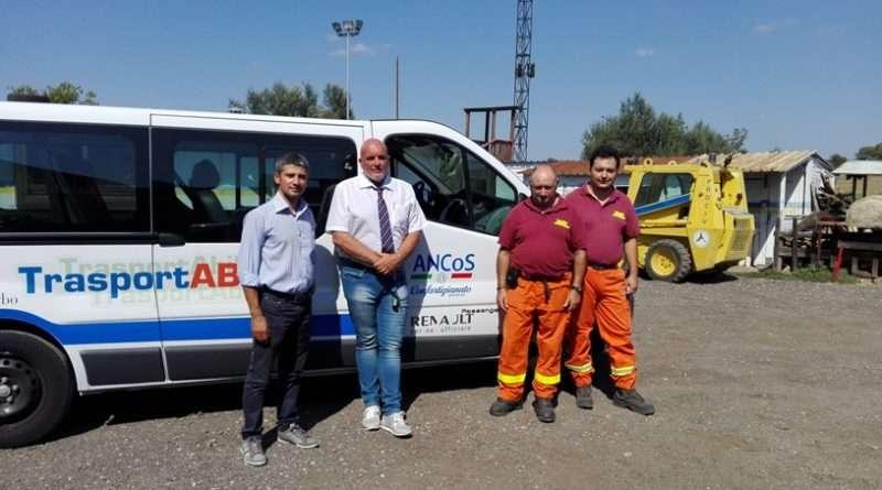 Consegna beni alla Protezione Civile di Viterbo