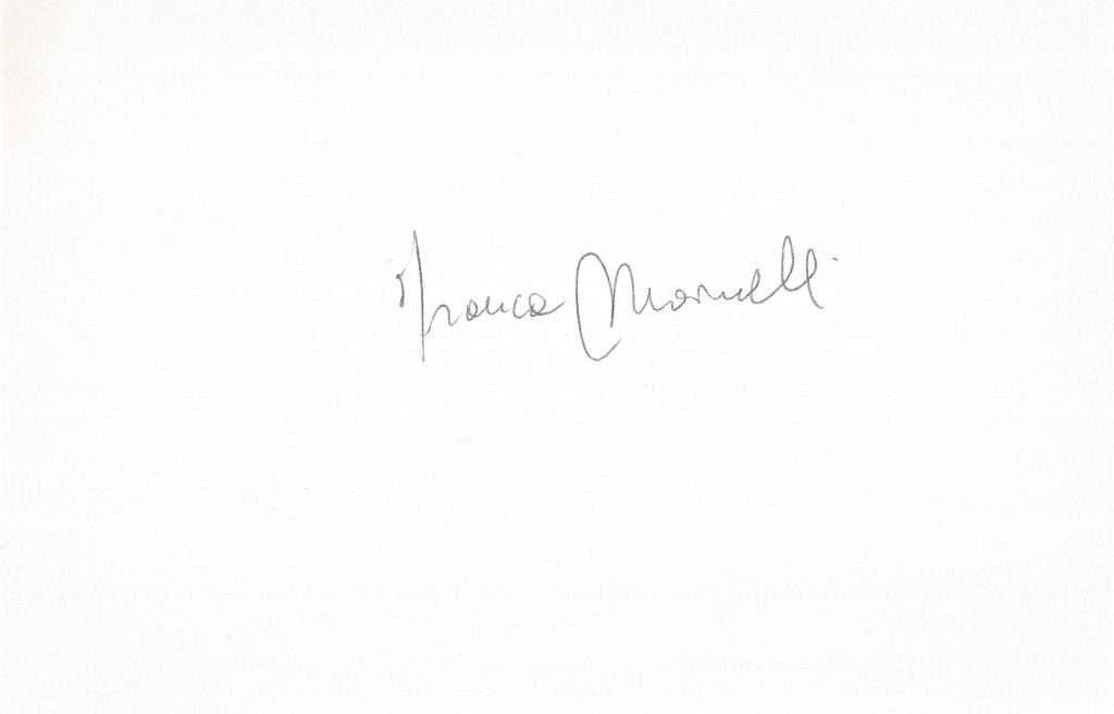 firma franca marinelli