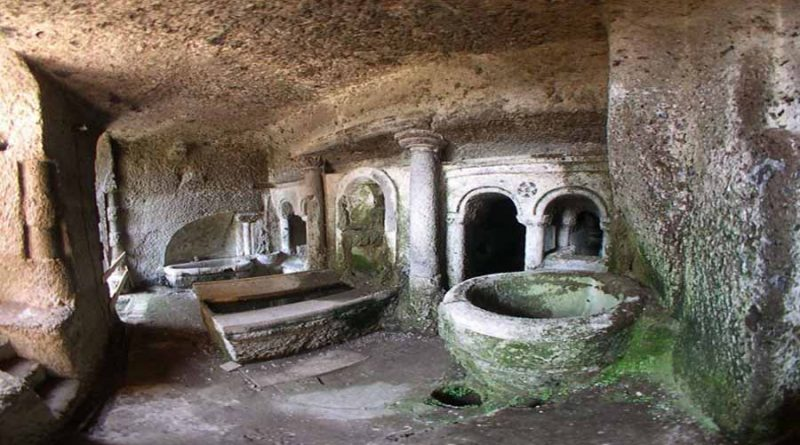 ninfeo sotterraneo1 orte