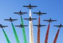 2 giugno: giro d'Italia delle Frecce Tricolori