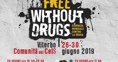 """""""Free without drugs"""":il grido di speranza dei ragazzi della Comunità del CeIS"""