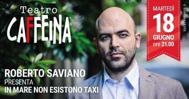 Roberto Saviano in diretta streaming