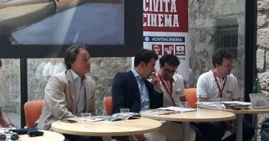 Tg Lazio Tv del 20/06/2019. Presentato Civita Cinema 2019
