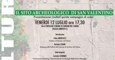 Soriano Nel Cimino, Open day sito scavi archeologici di San Valentino il 6 Luglio