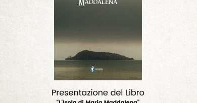 Presentazione a Piansano del libro L'Isola di Maria Maddalena di Luis Contenebra
