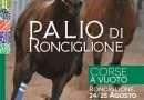 È iniziata ufficialmente la settimana del Palio delle Corse a Vuoto di Ronciglione