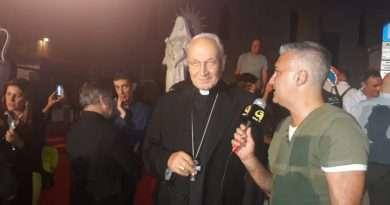 NewTuscia TV: Benedizione statua di Santa Rosa: tutte le interviste