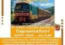 Domenica 13 ottobre il Treno storico Roma – Manziana – Capranica Sutri con Happy Hour
