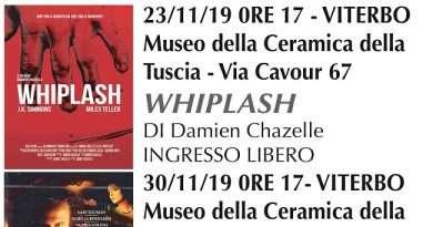 Proiezione del film WHIPLASH al Museo della Ceramica della Tuscia