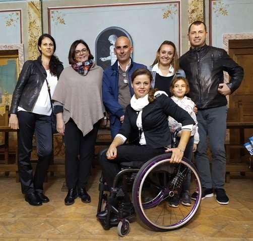 SuperaAbile, Ana Vitelaru accolta a Trevignano Romano dal sindaco Claudia Maciucchi | - NewTuscia
