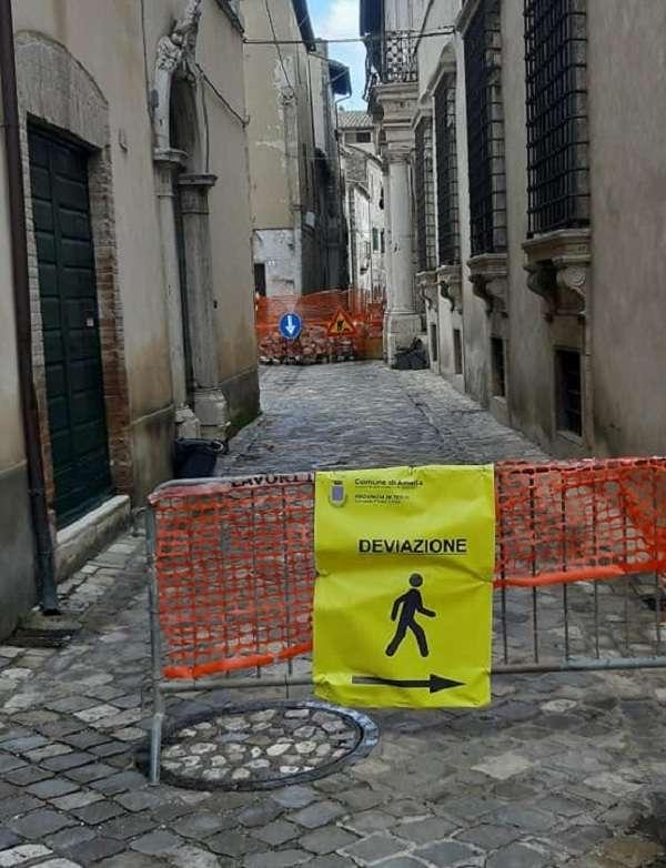 Amelia, lavori a Via Repubblica saranno chiusi in anticipo | - NewTuscia