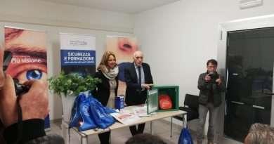 Tg Lazio TV del 14/11/2019. Viterbo, donato defibrillatore alla città
