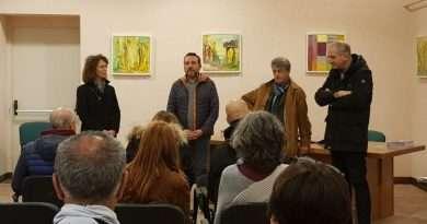 """""""Cromosintesi"""", il maestro di spatola stratigrafica Mario Salvo torna ad Acquapendente"""