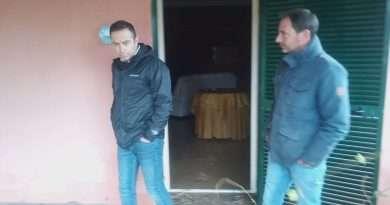 Alluvione a Montalto e Pescia Romana: sopralluogo del presidente della Provincia Nocchi