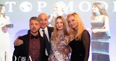 La viterbese Valentina Beraldo sul tetto del World Top Model