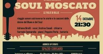 """""""Le Figlie di Billie"""", concerto con i Soul Moscato allo Spazio Corsaro di Chia"""