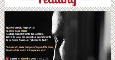 """Montalto: Culturalmente Reading, sabato 14 dicembre """"In nome della madre"""""""