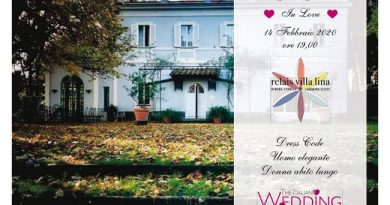"Il Relais Villa Lina si svela in occasione dell'evento ""In love"", il gala party di ""The italian wedding stars"""