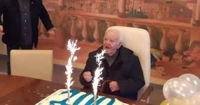 Tg Lazio Tv del 15.01.2020. Ischia di Castro. Celebrati i 100 anni di Alberto Laura