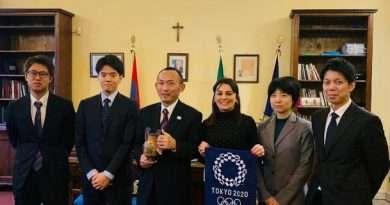 Delegazione della Città Metropolitana di Tokyo a Tarquinia: il resoconto
