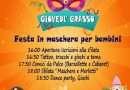 Giovedì Grasso 20 febbraio Festa in maschera per bambini all'Auditorium di Orte Scalo
