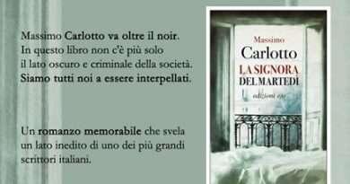 Orte, in libreria Massimo Carlotto parla del suo ultimo romanzo La signora del martedì