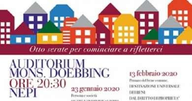 «Profili di Cristiani in politica», convegno con il prof. Giovagnoli presso l'Auditorium Doebbing di Nepi