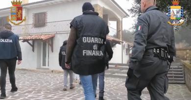 Tg Lazio Tv del 19.02.2020. Monterosi. Sequestrati beni per oltre 3 milioni di euro