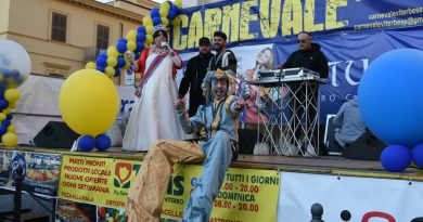 Tg Lazio Tv del 17.02.2020. Successo per il Carnevale viterbese