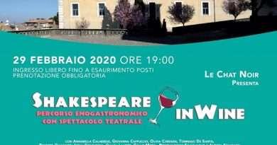 San Martino al Cimino: a palazzo Doria Pamphilj va in scena Shakespeare in wine con degustazione enogastronomica