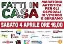 """""""Fatti in casa"""", tutto pronto per la maratona di beneficenza del 4 aprile"""