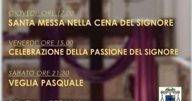 """Le celebrazioni per la Settimana Santa della Diocesi di Civita Castellana: """"Riscoprire in isolamento la presenza di Dio"""""""