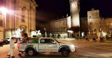 In corso sanificazione di Bagnaia, La Quercia, San Martino, Ponte di Cetti e Tobia