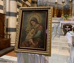 Orte Scalo onora la Madonna della Sanità, in preghiera per la salute del corpo e dello spirito