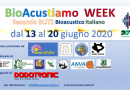 """BioAcustiamo: il Secondo BLITZ Bioacustico è WEEK"""