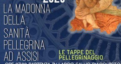 Sabato 11 luglio la Madonna della Sanità di Vallecorsa pellegrina ad Assisi sosterà ad Orte