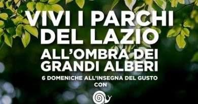 All'ombra dei grandi alberi: dal 26 luglio al 13 settembre domenica col gusto nei parchi del Lazio con Slow Food