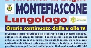 """""""Gli Ambulanti di Forte dei Marmi®"""" a Montefiascone domenica 12 luglio"""