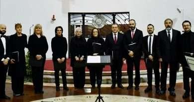 L'Ensemble Vocale Doppiounisono in un Concerto di Musica Sacra a Civita Castellana