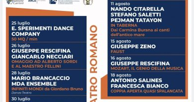 Stagione teatrale Ferento, presentata la 55esima edizione