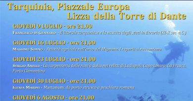 Conferenza archeologia subacquea Prof. Francesco di Gennaro