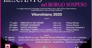 """""""In…Canto nel Borgo Sospeso"""", un'estate di musica e cultura a Vitorchiano"""
