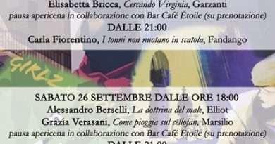 """Orte. In libreria torna l'incontro con gli autori di """" SentieridiLibri""""con Alessandro Berselli, Grazia Verasani e Giampaolo Simi"""