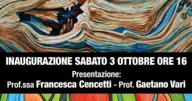 Personale di Giuseppe Rossi, 10 anni del Dendronaturalismo