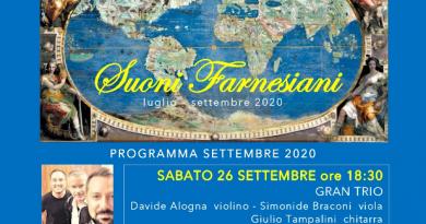 """Il Grand Trio conclude a Caprarola la rassegna """"Suoni Farnesiani"""""""