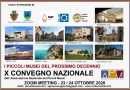 X convegno nazionale Piccoli Musei in modalità virtuale