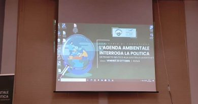 """Resoconto del convegno di Montefiascone """"L'Agenda ambientale interroga la politica"""""""