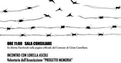 Civita Castellana, insieme anche se a distanza per onorare la memoria