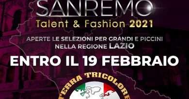 Sanremo Talent&Fashion – Al via le selezioni per il casting nella regione Lazio