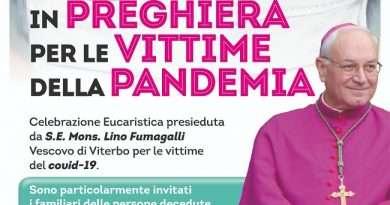 Il Vescovo Lino Fumagalli, in preghiera per la pandemia